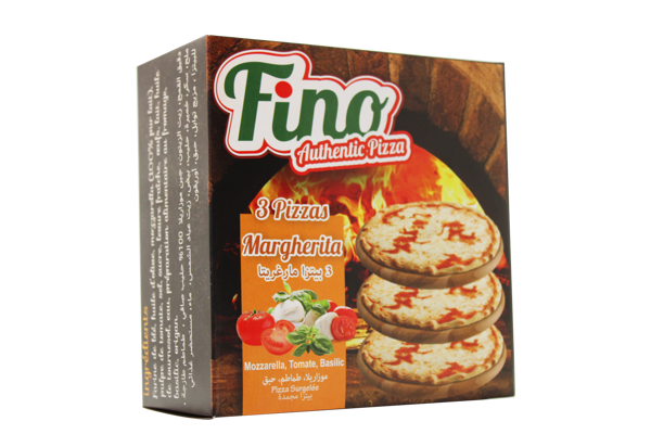 Image de 3 Pizzas Margherita