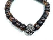 Image de bracelet homme lion