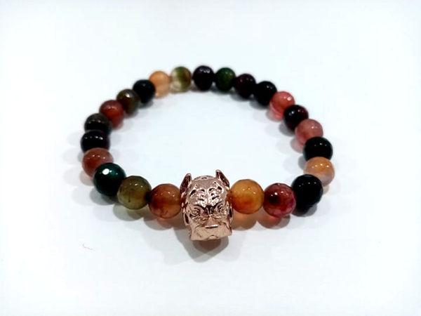 Image de bracelet homme chien