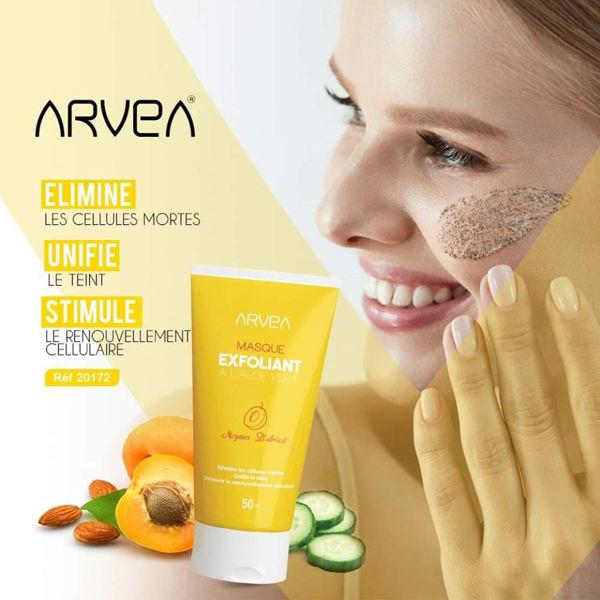 Image de masque exfoliant Arvea