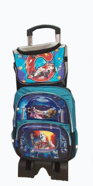 Image de Sac à dos scolaire avec sacoche