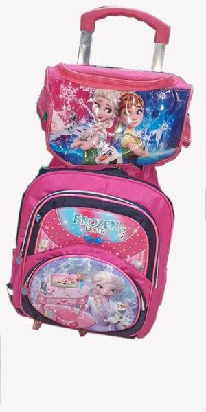 Image de Sac à dos scolaire pour fille Frozen