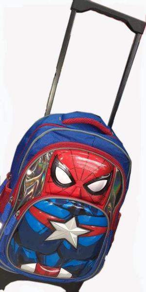 Image de Sac à dos spiderman pour garçon