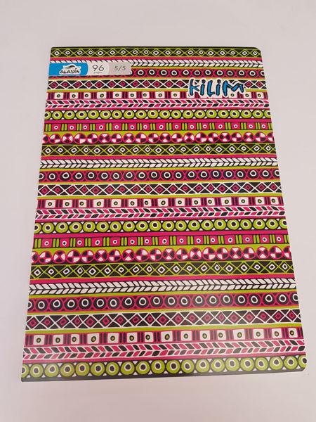 Image de Cahier Aladin 5/5 motif Kilim de 96 pages