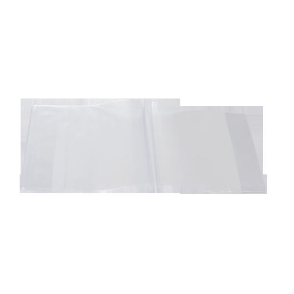 Image de Protège-cahier musique en PVC CRISTAL