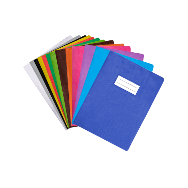 Image de Protège-cahier en PVC opaque grain LINO 17x22cm