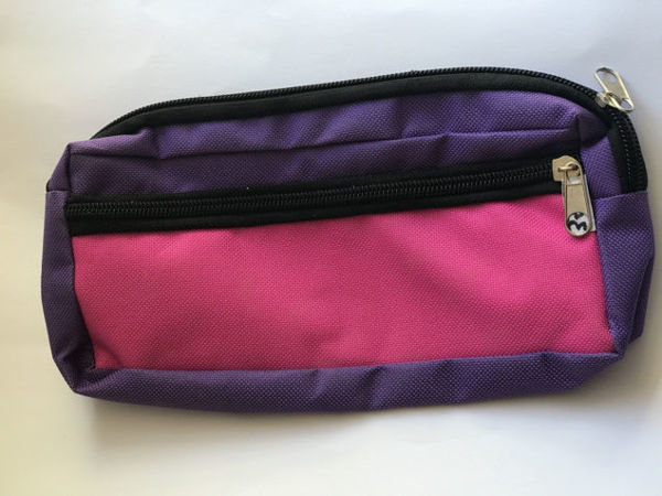 Image de Trousse d'école rose-violet