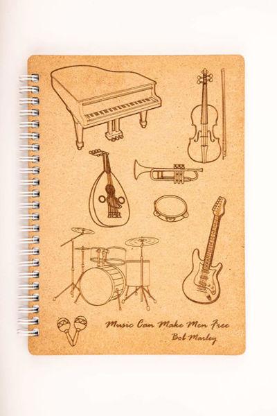 Image de Bloc notes en bois