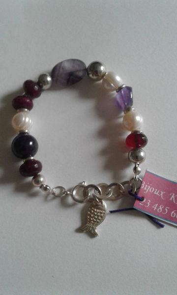Image de Bracelet en cuivre argenté