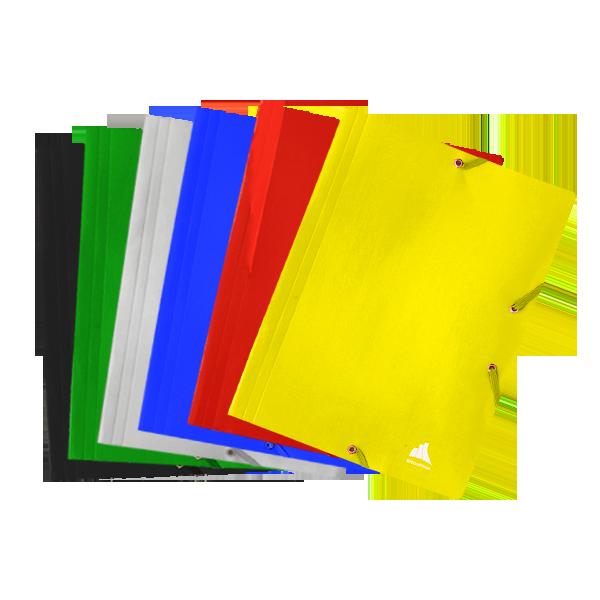 Image de Chemise 3 rabats à élastique en carton UNILAQUÉ