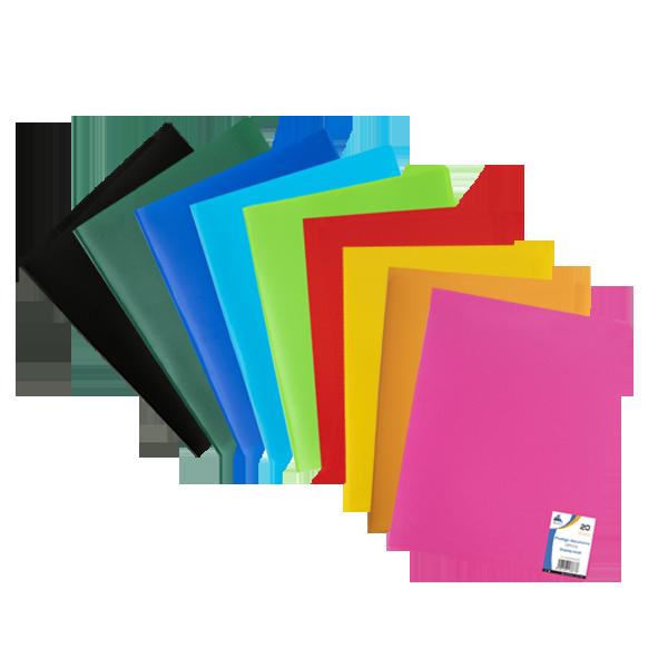 Image de Protège-documents en polypropylène opaque Office-20 vues