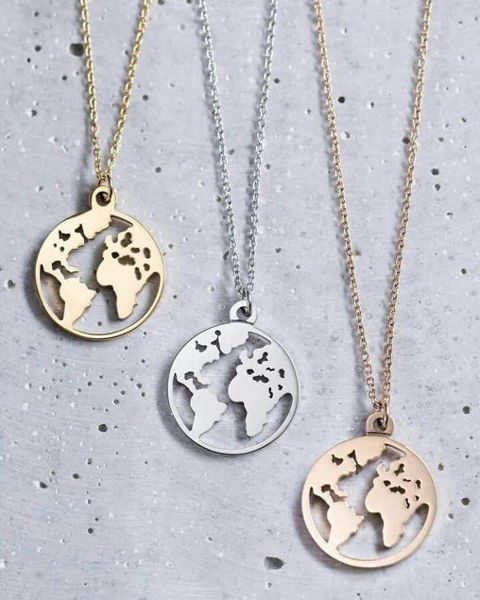 Image de Collier Globe terrestre