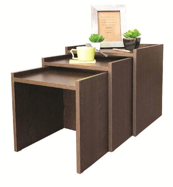 Image de Table de coin - unit  - Effet bois