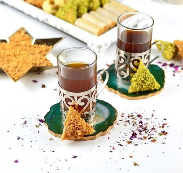 Image de 6 verres de thé