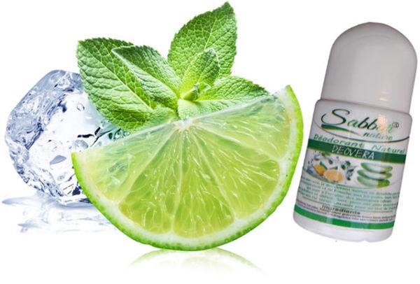Image de Deodorant Sabbar citron/the vert 50ml