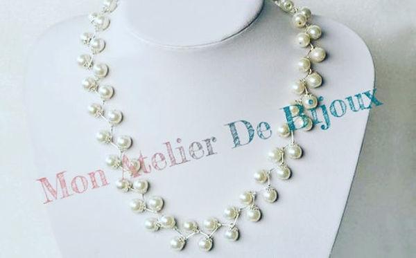 Image de Collier perle plus Bracelet cadeau