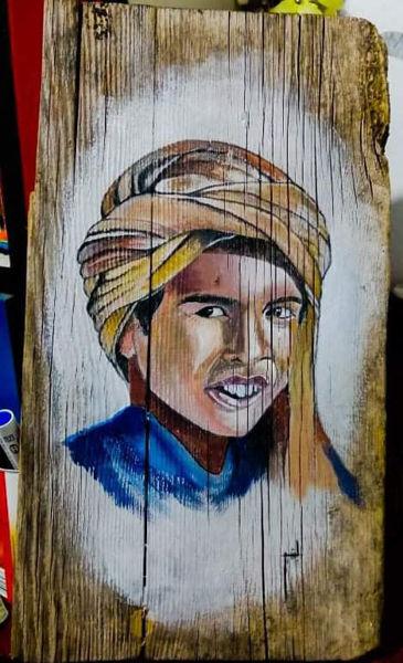Image de Peinture sur bois