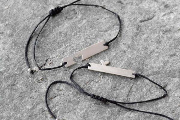 Image de Bracelet couple avec fil