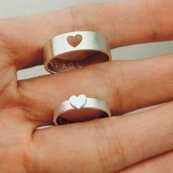 Image de Bague argent pour couple