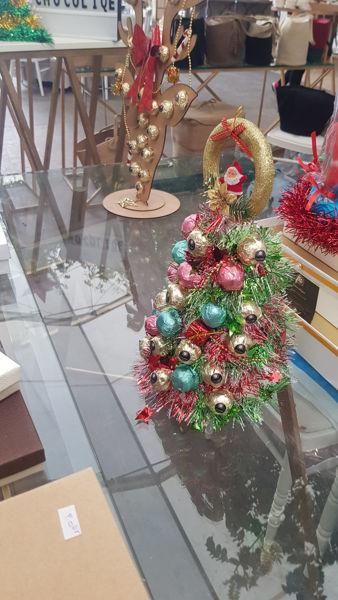 Image de Sapin de Noël aux chocolats