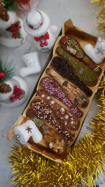 Image de Mendiants cuillères chocolats