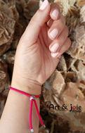 Image de Bracelet avec motif en argent émaillé