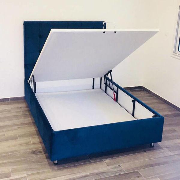 Image de lit avec rangement