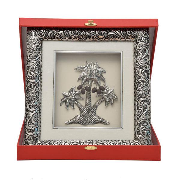 Image de Cadre trois palmiers avec coffret gravé