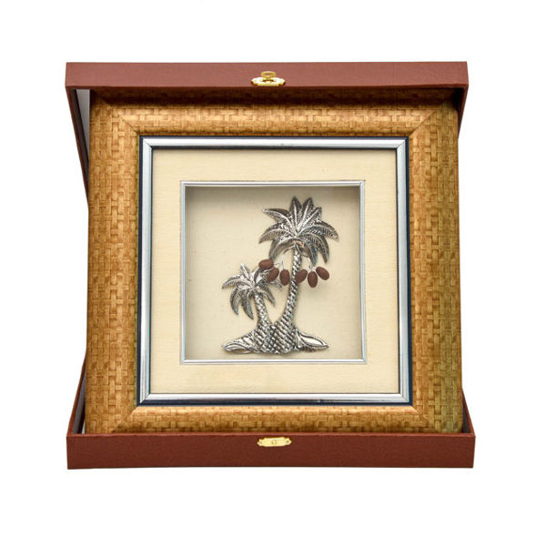 Image de Cadre deux palmiers en coffret
