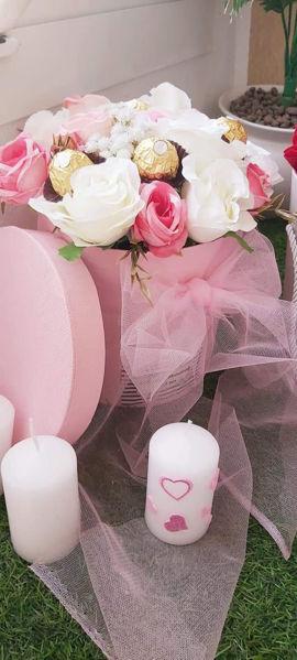 Image de Box en fleurs et chocolat