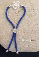 Image de Bracelet avec motif en acier inoxydable