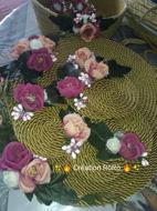 Image de ✨Set de table ✨✨ Set de table ✨ 💫L'art d'être unique 💫 💜🖤Toutes les couleurs disponibles 💙💚 🚚 Livraison à domicile 🏠 🏠🏠🏠