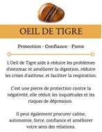 Image de Bracelet homme œil de tigre