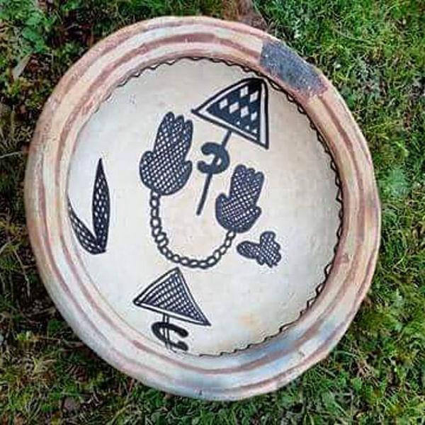 Image de Assiette berbère en terre cuite