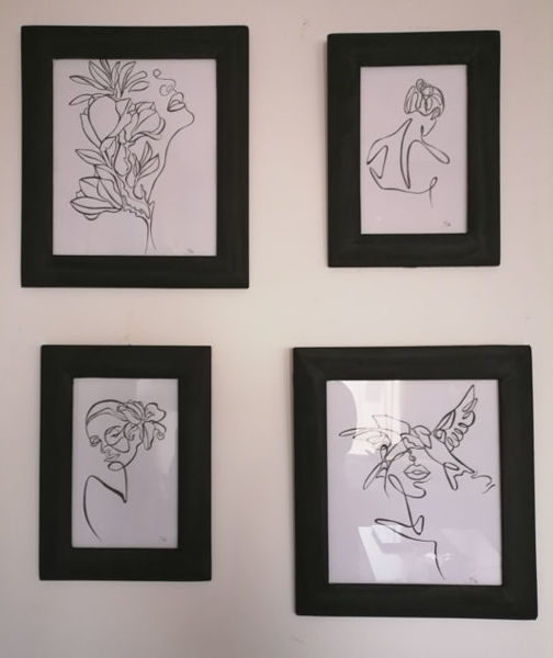 Image de Tableau en noir et blanc