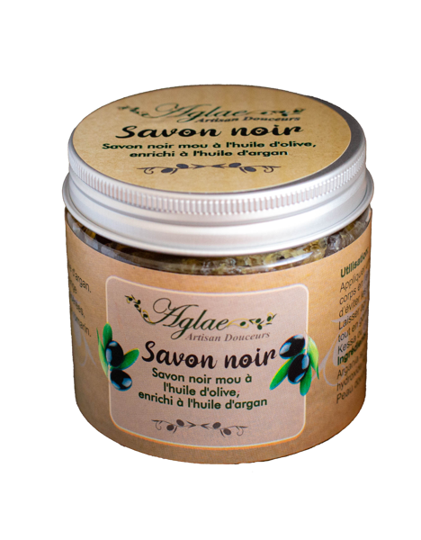 Image de Savon Noir à l'huile d'Olive enrichi à l'huile d'Argan
