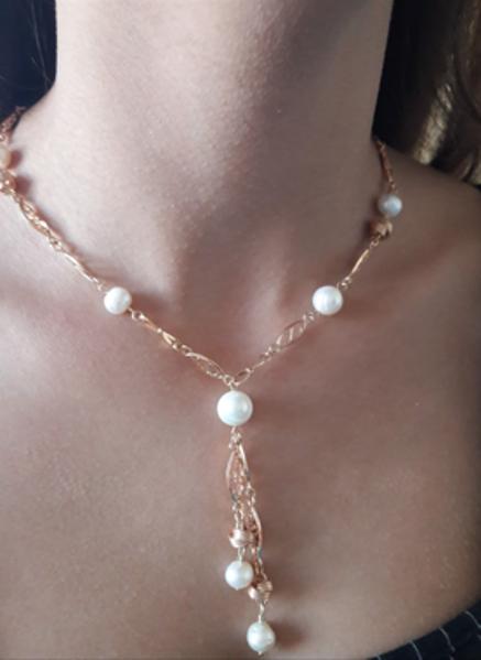 Image de Collier argent et perles de culture