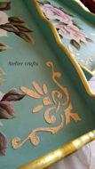 Image de Série de plateaux avec porte serviette