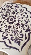Image de Série plateaux avec porte serviette
