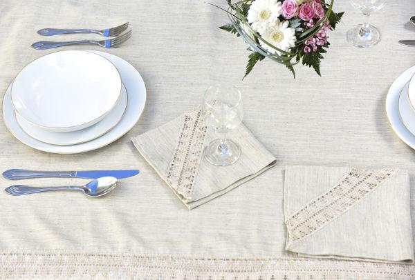 Image de Nappe + 12 serviettes