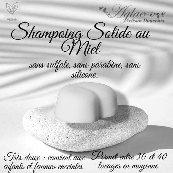 Image de Shampoing solide au Miel pour tous types de cheveux