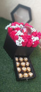 Image de Coffret de fleurs et de chocolat