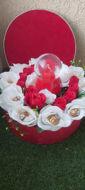 Image de Coffret de fleurs et porte bague