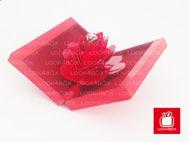 Image de Coffret alliance chic fleur 3D