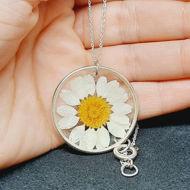 Image de Collier fleur naturelle