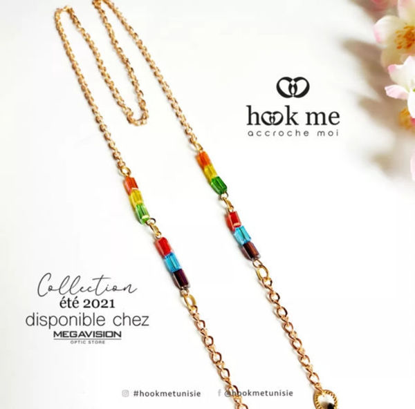 Image de Hookme chaîne à lunettes
