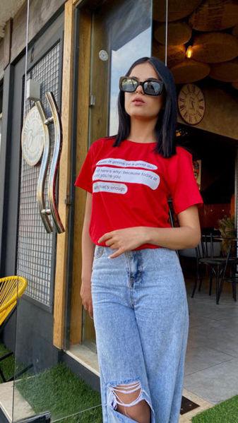 Image de T-shirt rouge