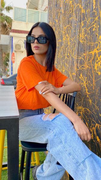 Image de Pull orange
