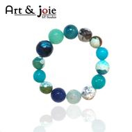 Image de Bracelet femme en pierre agate