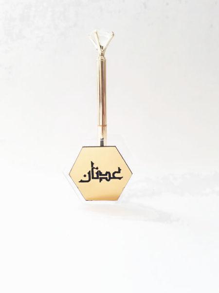 Image de Stylo diamant avec support